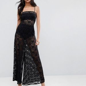 ASOS lace jumpsuit ! Brand new with tags